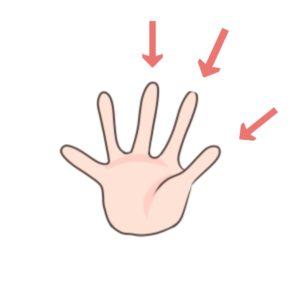 子ども 箸の持ち方 使う指
