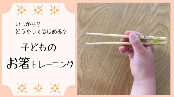 子どもにお箸の持ち方を教えるには?必要なアイテム・練習法を大公開!