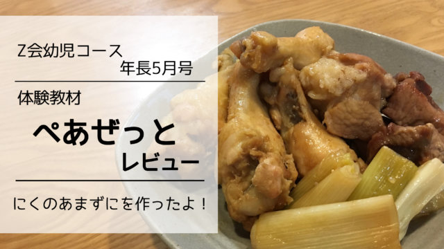 Z会 幼児コース レビュー