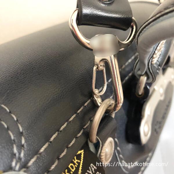 神田屋鞄製作所 ランドセルの持ち手